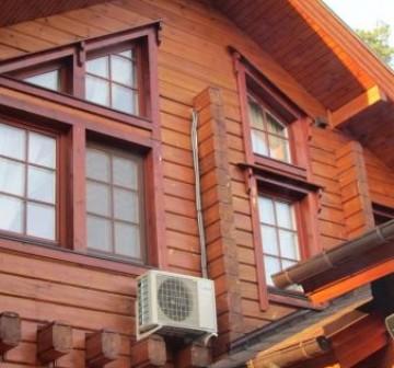 Монтаж оборудования в деревянном доме ул. Центральная (Салмычи)