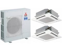 Мультисплит-система Mitsubishi Electric PUHZ-ZRP71VHA / PLA-ZRP35BA + PLA-ZRP35BA