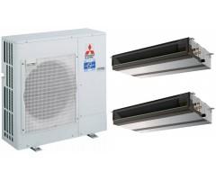 Мультисплит-система Mitsubishi Electric PUHZ-ZRP71VHA / PEAD-RP35JA(L)Q + PEAD-RP35JA(L)Q