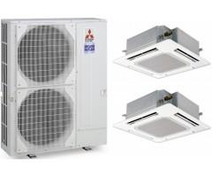 Мультисплит-система Mitsubishi Electric PUHZ-ZRP100YKA / PLA-ZRP50BA + PLA-ZRP50BA