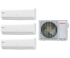 Мультисплит-система Pioneer KRMS07A + KRMS09A + KRMS09A / 3MSHD24A
