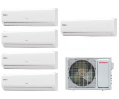 Мультисплит-система Pioneer KRMS07A + KRMS07A + KRMS09A + KRMS09A + KRMS09A / 5MSHD42A