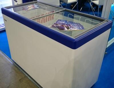 Морозильный ларь Снеж МЛП-400 (синий)