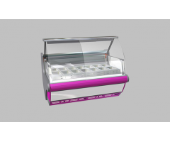 Холодильная витрина Lida LOTUS Junior M 1,5 (с лайт-боксом)