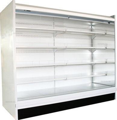 Пристенная витрина Полюс ВХСд-2,5 (без боковин)