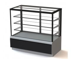 Холодильная витрина Carboma ВХСв-1.3д Cube (техно)