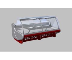 Холодильная витрина Lida BRIZ M 2,5