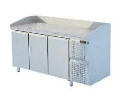 Стол охлаждаемый Диксон СТХ-3/1680КМ (с гранитной столешницей, с бортом)