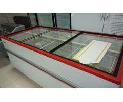 Морозильный ларь-бонета Снеж Bonvini BF 2100 L (красный)