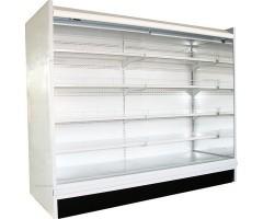 Пристенная витрина Полюс ВХСд-3,75 (без боковин)