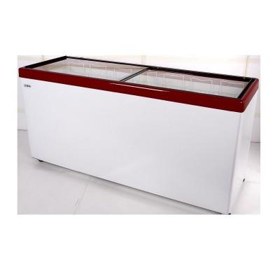 Морозильный ларь Снеж МЛП-700 (красный)