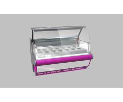 Холодильная витрина Lida LOTUS Junior M 2,0 (с лайт-боксом)