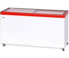 Морозильный ларь Снеж МЛП-600 (красный)