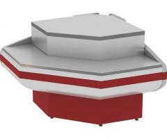 Расчетно-кассовый неохлаждаемый прилавок Cryspi Gamma-2 КНП OC 90