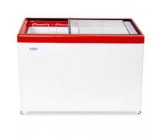 Морозильный ларь Снеж МЛП-400 (красный)