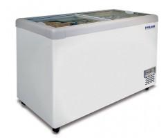Морозильный ларь Polair DF150SF-S (с синей/красной/белой рамой)