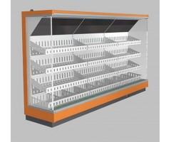 Пристенная витрина LIDA STELLA 3,75/0,8 (фруктово-овощная модель)