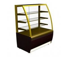 Холодильная витрина Carboma Люкс ВХСв-1.3д