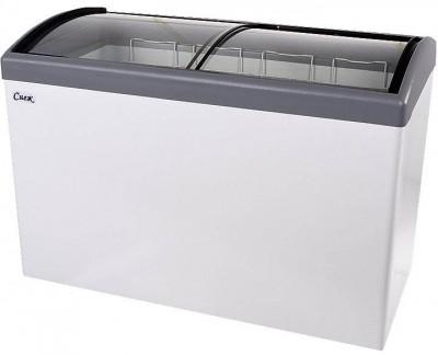Морозильный ларь Снеж МЛГ-400 (серый)