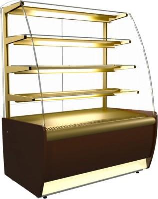 Холодильная витрина Carboma ВХСв-1.3д