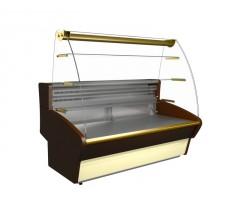 Холодильная витрина Полюс ВХСд-1.5