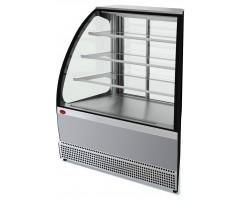 Холодильная витрина Марихолодмаш VS UN Veneto (открытая, внеш. угол, нерж.)