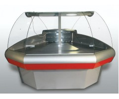 Холодильная витрина Carboma ВХСу-1 (внеш. угол)